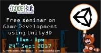 Free Game Development Seminar using Unity3d Engine by Codekul