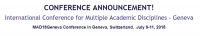 International Conference for Multiple Academic Disciplines - Geneva