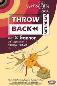 Throwback Saturdays