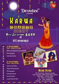 Devotee Presents Karvachauth