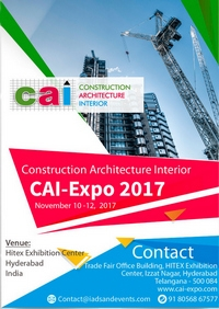 Construction Architecture Interior Expo – Hyderabad 2017