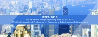 2018 2nd International Conference on E-commerce, E-Business and E-Government (ICEEG 2018)
