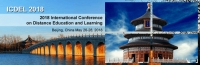 2018 International Conference on Distance Education and Learning (ICDEL 2018)
