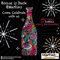 MRP Bottle Nights at Martin's Restaurant