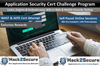 Online Application Security Certificate Challenge Program
