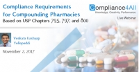 Requirements for Compliance Compounding Pharmacies