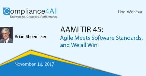 Agile Meets Software Standards, and We all Win, Fremont, California, United States