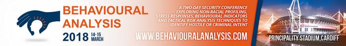 Behavioural Analysis 2018, Cardiff, Wales, United Kingdom