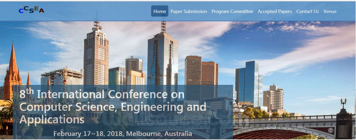 8th International Conference on Computer Science, Engineering and Applications (CCSEA 2018), Melbourne, Victoria, Australia