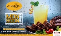 Monsoon brunch at Watson's