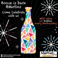 MRP Bottle Nights at Martin's Restaurant, Margao