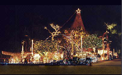 Oakdale Christmas Display, Pinellas, Florida, United States