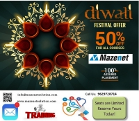 Professional courses - Diwali Festival Offer 50% For All Courses