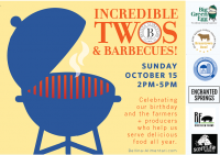 Bellina Alimentari's Incredible Twos & Barbecues