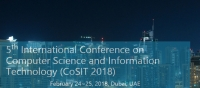 5th International Conference on Computer Science and Information Technology (CoSIT 2018)