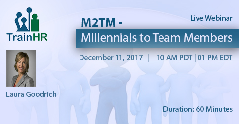 M2TM - Millennials to Team Members, Fremont, California, United States