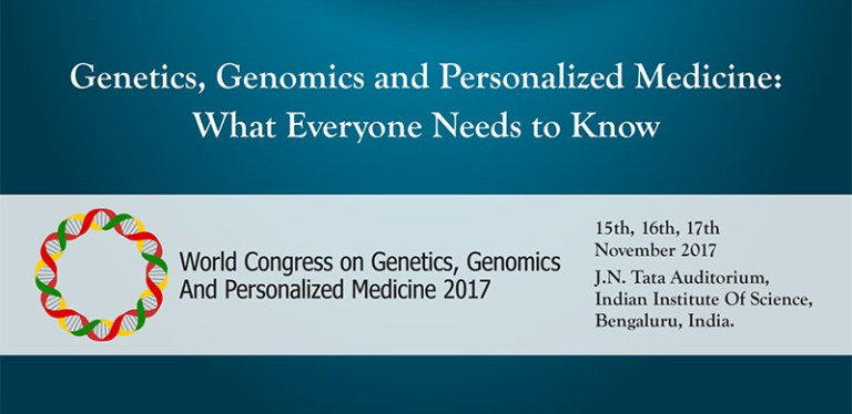 World Congress on Genomics, Genomics  and Personalized Medicine - 2017, Bangalore, Karnataka, India