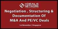 Negotiation, Structuring and Documentation of M&A and PE Deals