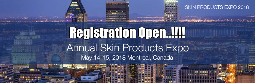 Skin care products - Annual Skin Products Expo, Manitoba, Canada