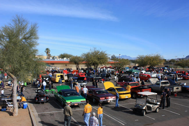 20th Annual Navy JROTC Benefit Car and Motorcycle Show, Pinal, Arizona, United States