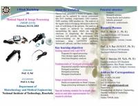 1-Week Workshop on Medical Signal & Image Processing (MSIP-2018)