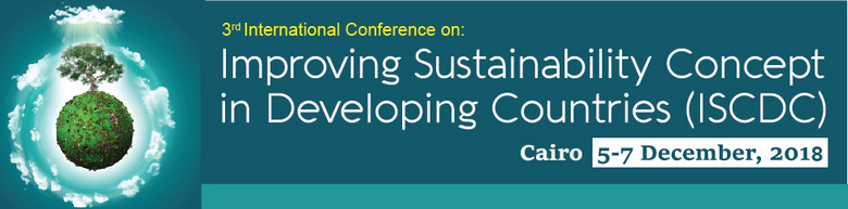 Improving Sustainability Concept in Developing Countries – 3rd Edition, Cairo, Egypt