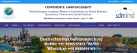 Tenth European Academic Research Conference on Global Business, Economics, Finance and Social Sciences