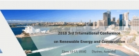 2018 the 3rd International Conference on Renewable Energy and Conservation (ICREC 2018)
