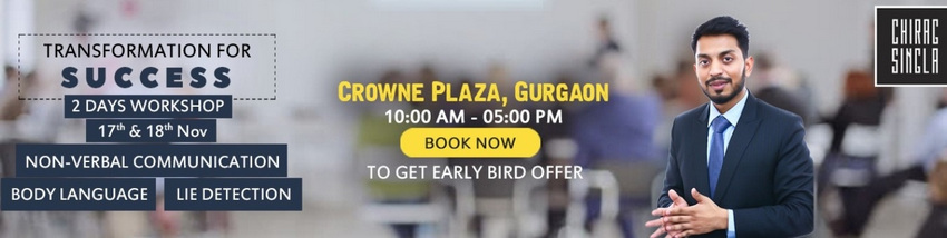Transformation For Success Through Non-Verbal Communication, Body Language and Lie Detection (TFS), Gurgaon, Haryana, India