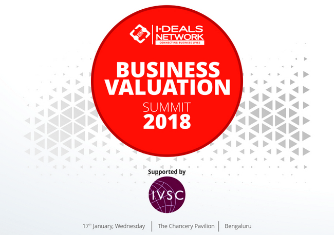 Business Valuation Summit, Jan 2018   Bengaluru, Bangalore, Karnataka, India