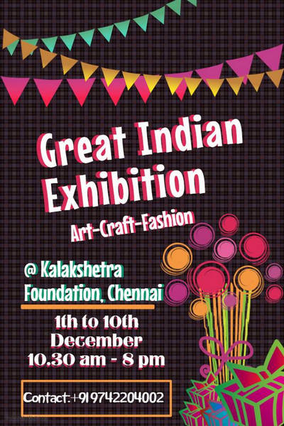 Great Indian Exhibition, Chennai, Tamil Nadu, India