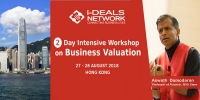 Business Valuation With Aswath Damodaran - 27- 28th Aug'18 | Hong Kong
