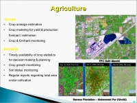 GIS and Remote Sensing for agricultural resource management Course