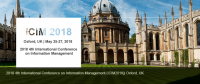 IEEE--2018 4th International Conference on Information Management (ICIM 2018)--Ei Compendex and Scopus