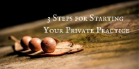 Yes! You can still start a new private practice