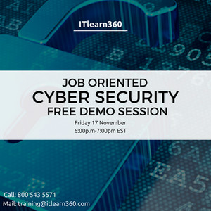 Job Oriented Cyber Security Free Demo Session, Fairfax City, Virginia, United States