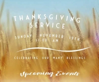 Remnant Worship Center Thanksgiving Service