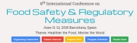 8th International Food Safety and Regulatory Measures