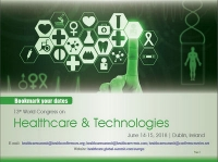 13th World Congress on Healthcare and Technologies Dublin, Ireland