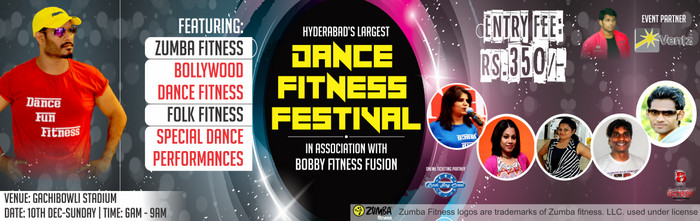 Largest Dance Fitness Festival 2017 Hyderabad, Hyderabad, Telangana, India