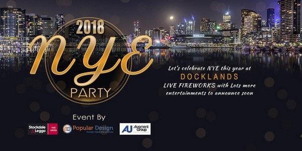 New Year Eve Celebration- Gala Dinner Night at Docklands, Melbourne, Melbourne, Victoria, Australia
