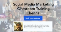 Social Media Marketing Classroom Training Chennai