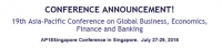 19th Asia-Pacific Conference on Global Business, Economics, Finance and Banking