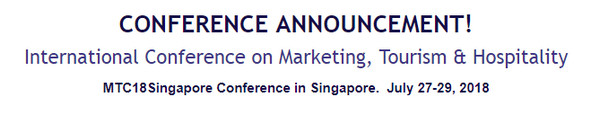 International Conference on Marketing, Tourism & Hospitality, Singapore