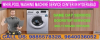 Whirlpool Washing Machine Service Center in Hyderabad Telangana