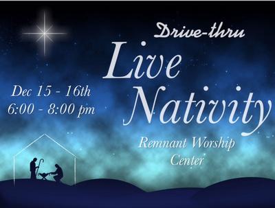 Remnant Worship Center Drive-thru Live Nativity, Tuscaloosa, Alabama, United States