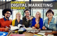 Dynamic Digital Marketing Program New Batch Starts 04 December 2017