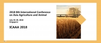 2018 8th International Conference on Asia Agriculture and Animal (ICAAA 2018)