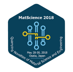 18thInternational Conference and Exhibition on Materials Science and Engineering, Osaka, Japan
