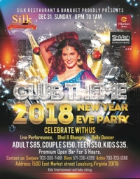 Club Theme 2018 New Year Eve Party